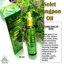 50 ml. SALET PANGPON Massage Oil Exhausted Stress Body Muscular Cramp Relief