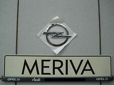 Zeichen Emblem Blitz Heckklappe original Meriva B vom Opel Händler