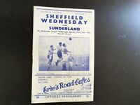 SHEFFIELD WEDNESDAY V SUNDERLAND 1950/51