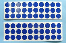 60 Round Blue Reflective Safety Decal-Stickers Bikes RSD-1-B