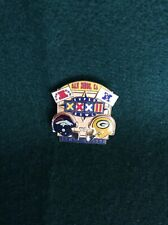 1998 Denver Broncos & Green Bay Packers San Diego Super Bowl Collectible Pin