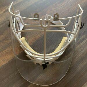 *Rare Vintage* Bauer HM30 Hockey Goalie Cage Non Pro Stock (Read Description)
