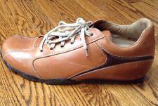 Aldo Men's Casual Lace Up Cognac Sneakers Shoes Size US 13/EUR 46