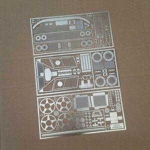 TREMONIA metal photoetch Transkit bundle for Ferrari F40 by Bburago 1/18