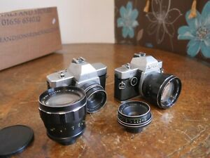 Ricoh 126 reflex lenses