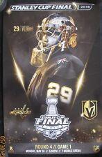 Marc Andre Fleury Vegas Golden Knights vs Washington Capitols Cup Finals Poster
