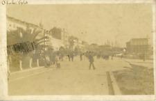 Croatie, Split, Vue de la promenade près du port, ca.1910, vintage silver print