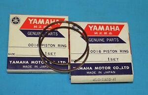 YAMAHA RD350 RD350H RD350J RD350LC Piston Ring Set x2 4th O.S +1.00 4L0-11610-41