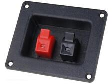 Sub / Speaker Box Terminal / Binding Post / Square Cup Spring Clip Connector