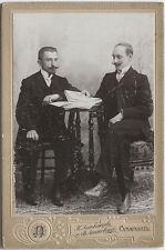 Original 1906 Kabinettkarte aus Samarkand, Usbekistan