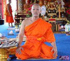 1X Asian Thai Buddhist Monk Robe ANGSA ANG SA OG 1Pocket 43x94cm FREE SH