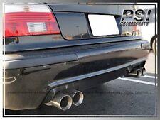 Carbon Fiber Rear Diffuser M5 Only Bumper BMW 96-03 E39 M5 Only 5-Series 4Dr