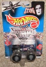 New! 2000 Hot Wheels Monster Jam WCW Sting Long Card MOC 1:64 Truck