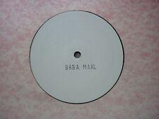 """Baaba Maal 12"""" Promo Jet Star Records"""