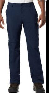 Columbia Men's Smith Creek Convertible Pants Short 32x30