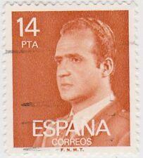 (SPB195) 1976 SPAIN 14 p orange king Carlos ow2403