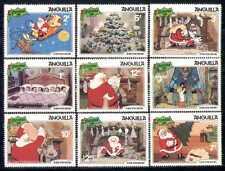 Anguilla 1981 Disney/Christmas/Santa/Tree 9v set b2033f