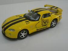 Bundaberg Rum Dodge Viper Sports car 1:43 New Boxed