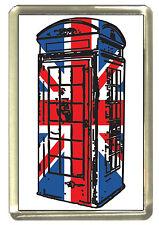 Union Jack Phonebox Fridge Magnet - Best of British