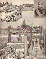 1887 Illustrated London News-Bangkok Siam Cremation