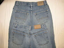 2 URBAN PIPELINE CLASSIC 5 POCKET DISTRESSED JEANS BOYS SZ 14 DESTROYED