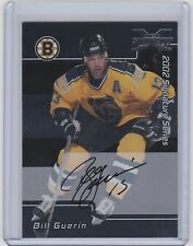 2002-03 BE A PLAYER SIGNATURE SERIES BILL GUERIN AUTO BAP BUYBACK SP BRUINS