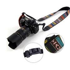 Vintage Skidproof Camera Shoulder Neck Straps For Sony Nikon Canon DSLR/SLR