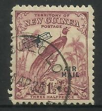 NEW GUINEA 1932 1½d Raggiana BIRD of PARADISE AIRMAIL 1v Used