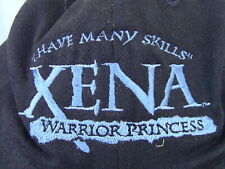 More details for xena warrior princess crew cap hat prototype xena logo i have many skills