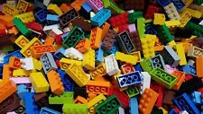 LEGO Bulk Lot of 100 Assorted Mixed 2x4 Building Brick Pieces