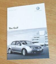 VOLKSWAGEN VW GOLF Mk5 guida prezzo 2007 1.6 MATCH 2.0 GT TDI GTI EDITION 30 R32