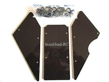 BONEHEADRC BLACK ACRYLIC WINDOWS  VERSION 3, CNC, COMPATIBLE WITH HPI BAJA 5B/SS