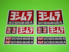 KX KXF RM RMZ YZ YZF CR CRF 85 125 250 450 YOSHIMURA EXHAUST STICKERS DECALS