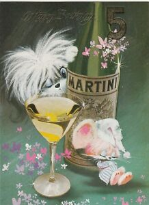 Happy 5th Birthday Vintage 1970's Greeting Card ~ 5 Years Old ~ Martini Mouse