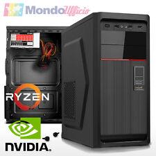 PC Computer AMD RYZEN 5 1600 6 CORE - Ram 16 GB - SSD M.2 250 GB - nVidia GT730