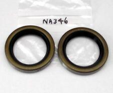 Pair of rear hub oil seals Morris Minor (Payen NA346 C610) also MG Midget