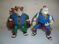 Lot tortue ninja usagi yojimbo panda khan teenage mutant turtles tmnt playmates