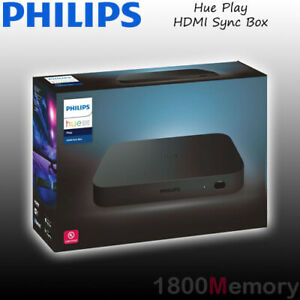 Philips Hue Play HDMI Sync Box Sync Light Home Theatre 4 HDMI TV WiFi Bluetooth