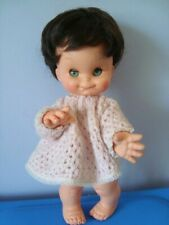 SEVERINA BAMBOLA FURGA INTERAMENTE IN VINILE 1965 poupée vintage doll toy