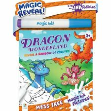 Inkredibles: Magic Ink Pictures Dragon Wonderland Activity Book