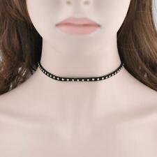 Fashion Jewelry Punk Retro Rivet Choker Necklace Chain Collar