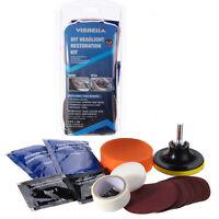 Visbella Car Vehicle Motorcycle Headlight Lamp Lens Cleaning Restoration DIY Kit