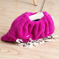Multi-purpose Household Flannel Mop Cloth Broom Cover Floor Wall Cleaning RD