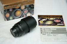 Nikon AF G Zoom-Nikkor 70-300mm f/4-5.6 FX lens - Excellent with Box