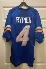 Brett Rypien #4 Signed Denver Broncos Jersey Sz XL Beckett BAS ROOKIE YEAR COA