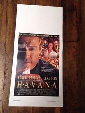 Havana locandina poster Robert Redford Lena Olin Pollack Avana Cuba Castro