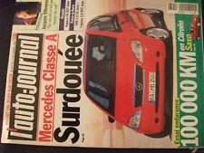 ** L'auto Journal n°453 100 000 km en Saxo 1.1i SX / Mercedes Classe A