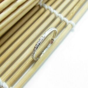 Pt950 Real Platinum Ring Jewelry Women's Full Star Wedding pt950 Ring US 3-8