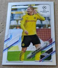 2020-21 Topps Chrome UEFA Champions League #49 Erling Haaland Dortmund BVB