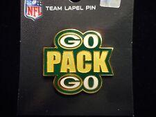NFL Officially Licensed Green Bay Packer, GO PACK GO, Pin